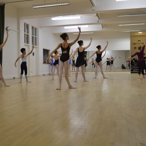 Cecchetti Masterclass on 8th November 2013 attended by Thomas Lund, Director of the Royal Danish Theatre School, Copenhagen and former principal dancer with the Royal Theatre, Copenhagen (Royal Danish Ballet)