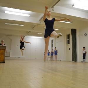 Cecchetti Masterclass on 8th November 2013 attended by Thomas Lund, Director of the Royal Danish Theatre School, Copenhagen and former principal dancer with the Royal Theatre, Copenhagen (Royal Danish Ballet)