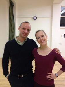 Thomas Lund and Julie Cronshaw