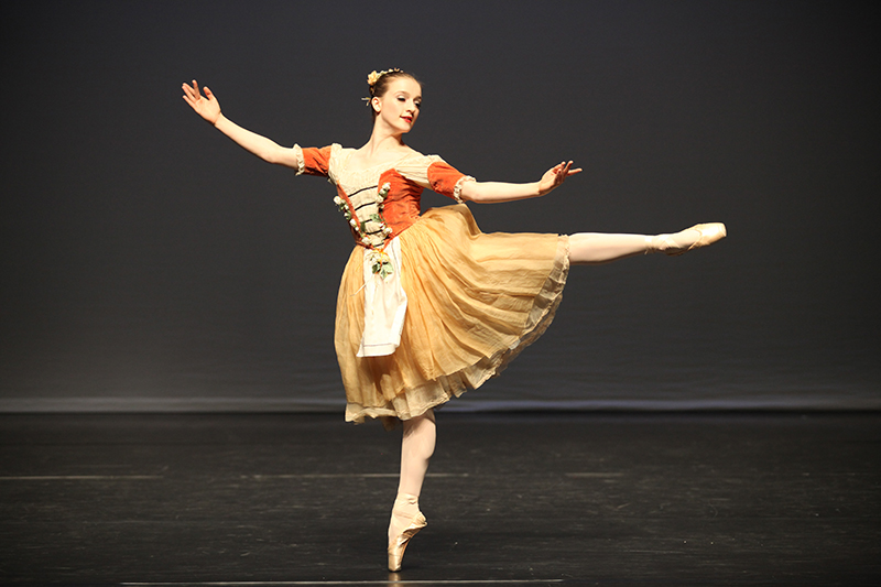 Maddy Squire, mow dancing with Scottish Ballet